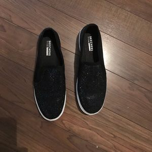 Skechers Size 10 sparkly slip on shoes